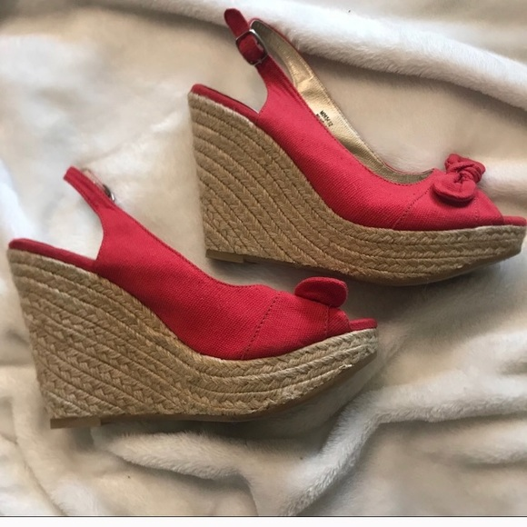 6d0fe5450f4 Poppy red canvas Espadrilles